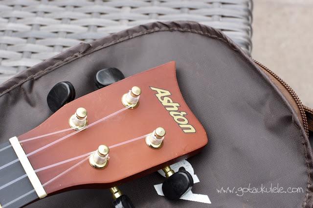 Ashton UKE100 Soprano Ukulele headstock