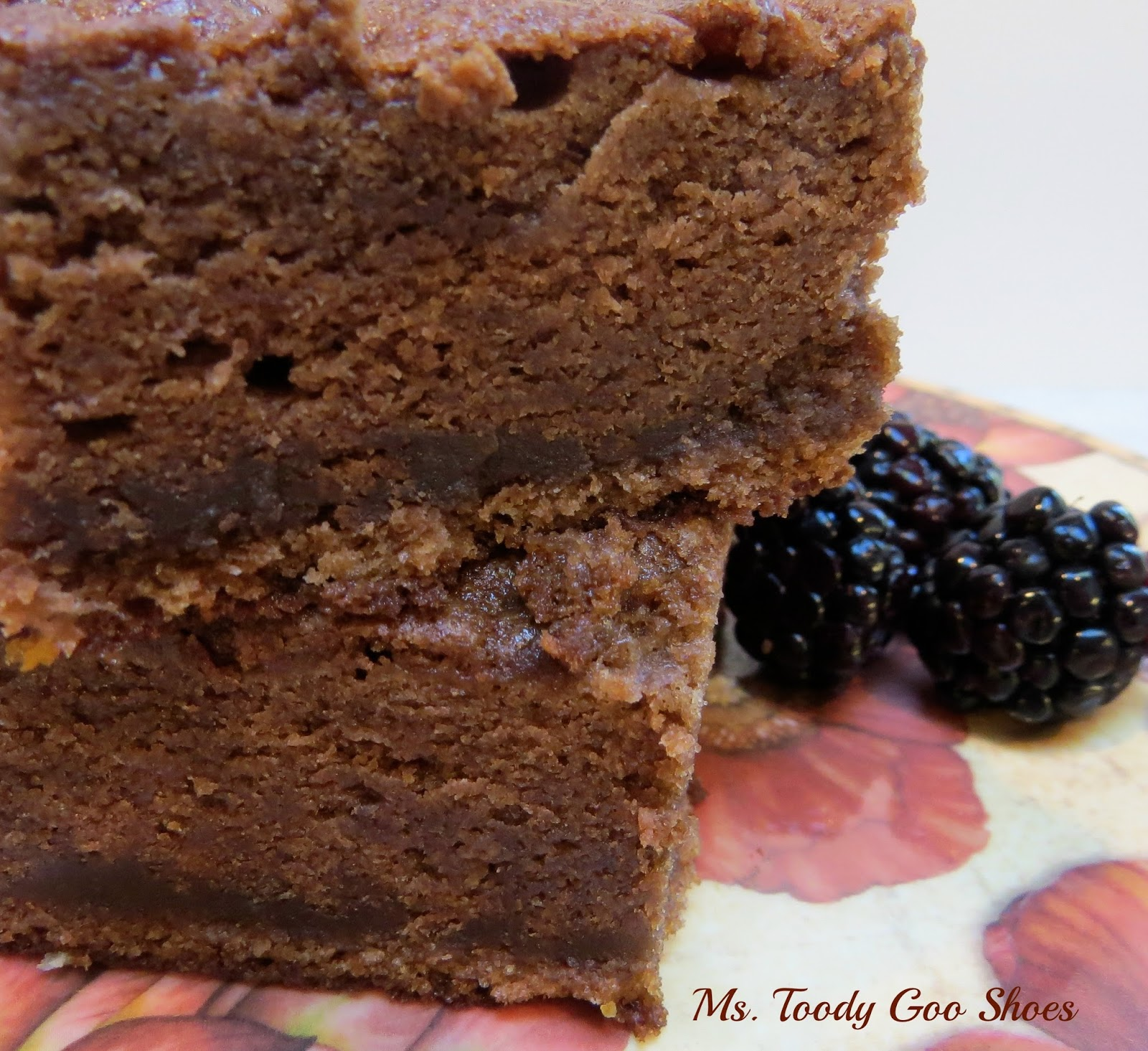 """""""Plain Jane"""" German Chocolate Cake -- It's Simply Delicious! By Ms. Toody Goo Shoes"""