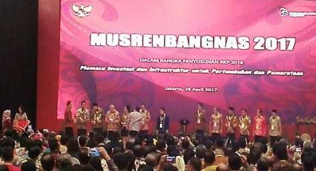 Dibawah Kepemimpinan Ahok-Djarot, DKI Jakarta Sabet Dua Penghargaan Nasional di Bidang Perencanaan