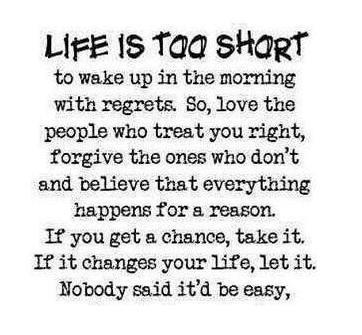 Life Is Short Quotes. QuotesGram