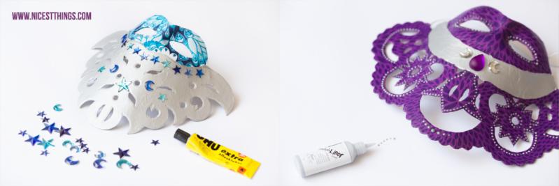 DIY Decopatch Maske basteln