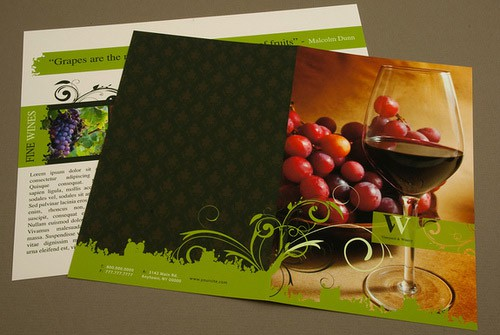 LA IMAGEN DEL DIA: 22 Beautiful Example of Brochure Designs vinos wine 3