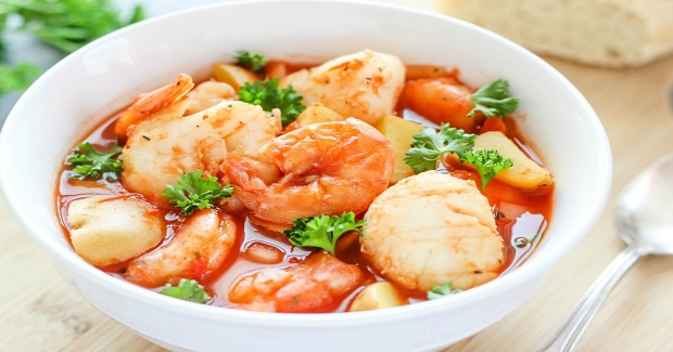 Slow Cooker Seafood Stew Recipe
