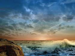 landscapes fantasy wallpapers landscape ocean nature pretty sea earth planet wave natural