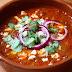 Sopa mexicana de frijoles y chile chipotle. Receta