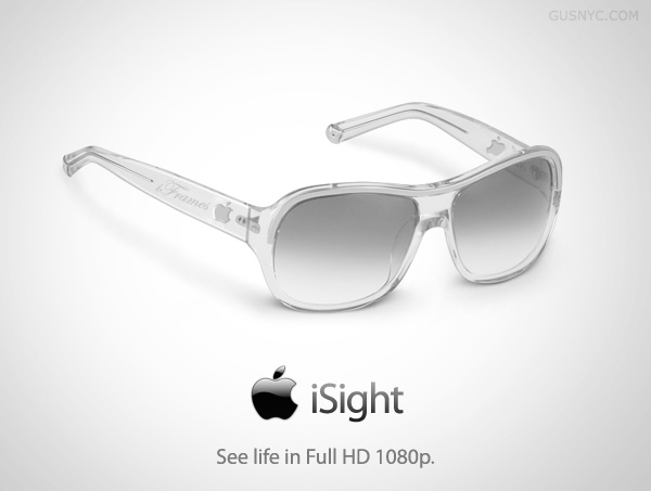 Another option for google glass is iSight image: Intelligent Computing