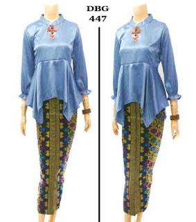 baju kerja batik modern