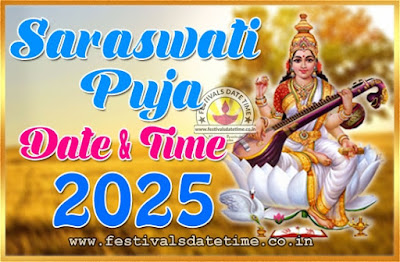 2025 Saraswati Puja Date & Time in West Bengal & India