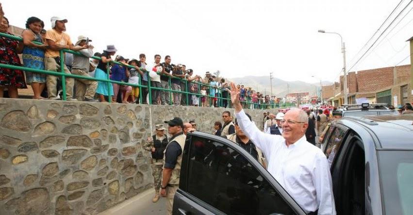 Presidente Kuczynski inaugura hoy colegio y supervisará hospital en la región Tacna