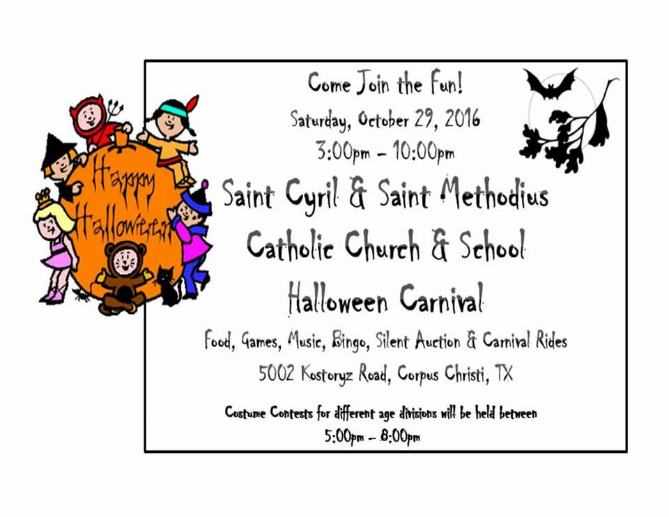 lexington baptist church fall festival from 3 to 5 pm games candy wear your costumes and prepare for fun cost free 3525 spid side lot - Halloween Stores In Corpus Christi