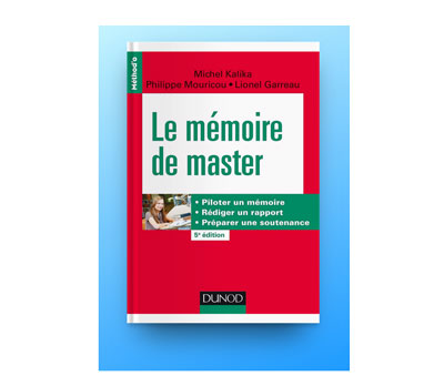 Le mémoire de master :préparer une soutenance en PDF GRATUIT