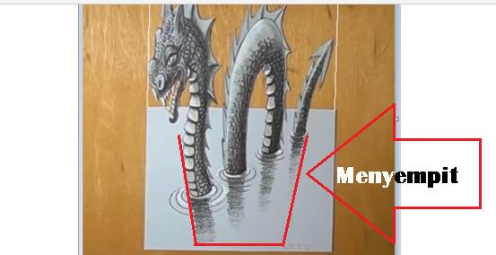 Cara Menggambar Gambar 3 Dimensi