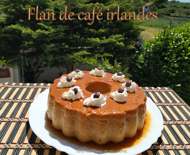 Flan De Café Irlandes