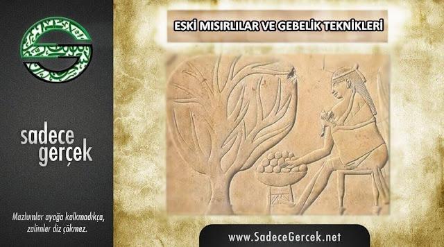 Eski Mısırlılar ve gebelik teknikleri