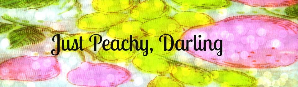 Just Peachy Darling Retro Laundry Room