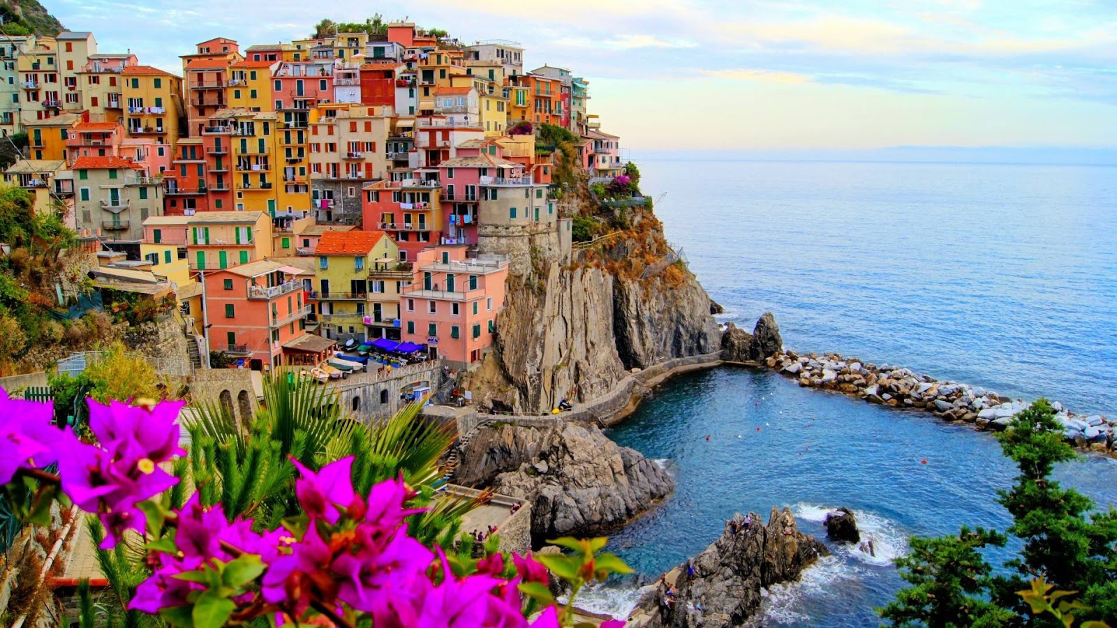 Manarola Italy Beautiful Coastal Village