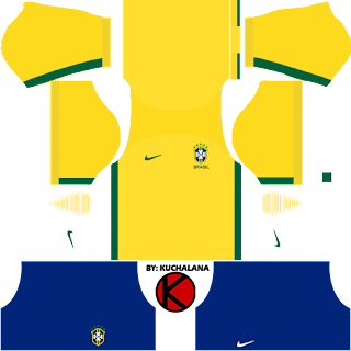 Brazil Kits 2017 -  Dream League Soccer