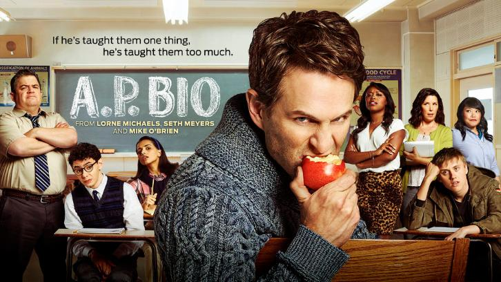 A.P. Bio - Promos, Cast and First Look Photos, Featurette + Key Art *Updated 17th January 2018*