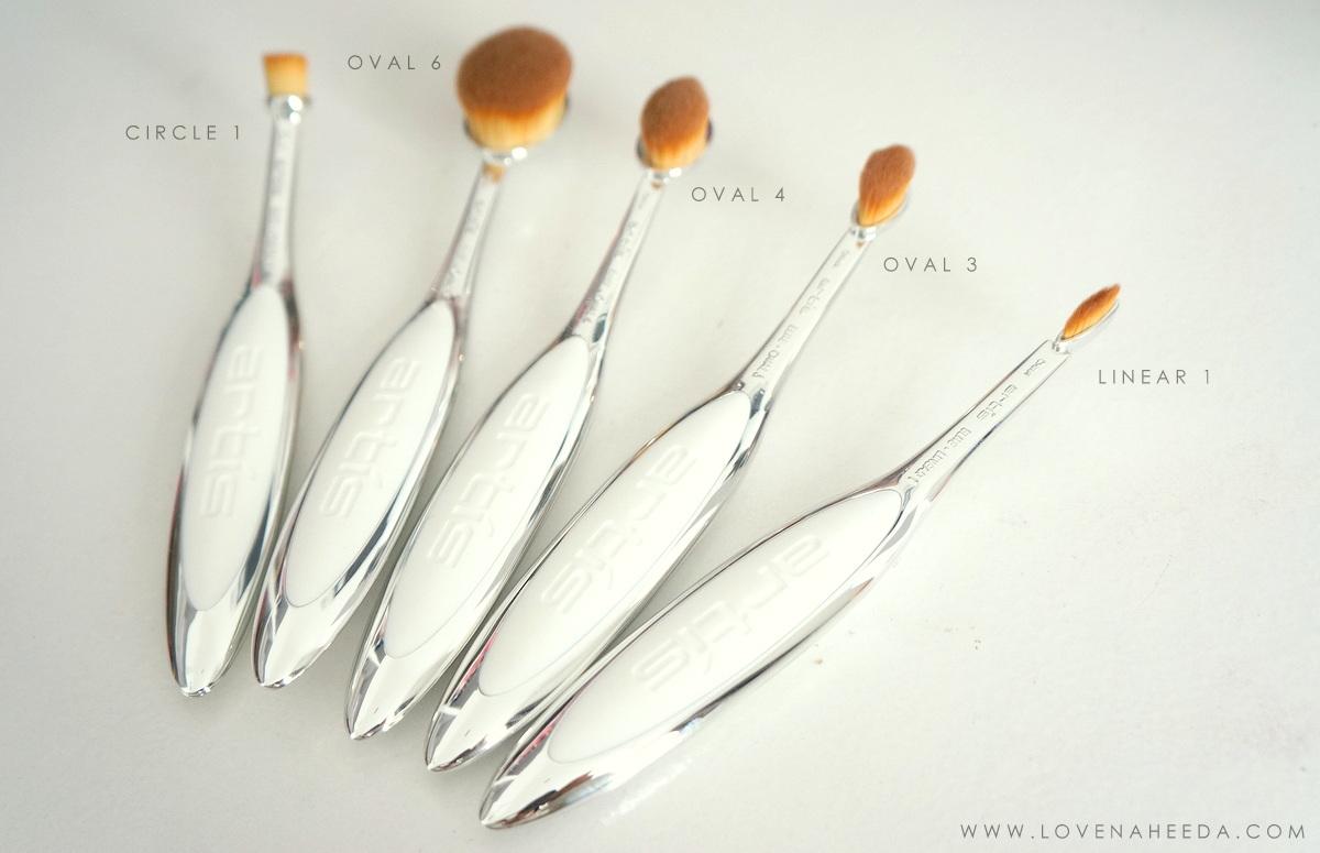 Love naheeda artis makeup brushes elite collection for Brush craft vs artis