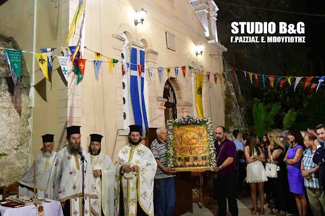 Η γιορτή των Αγίων Πάντων στο Ναύπλιο (βίντεο)