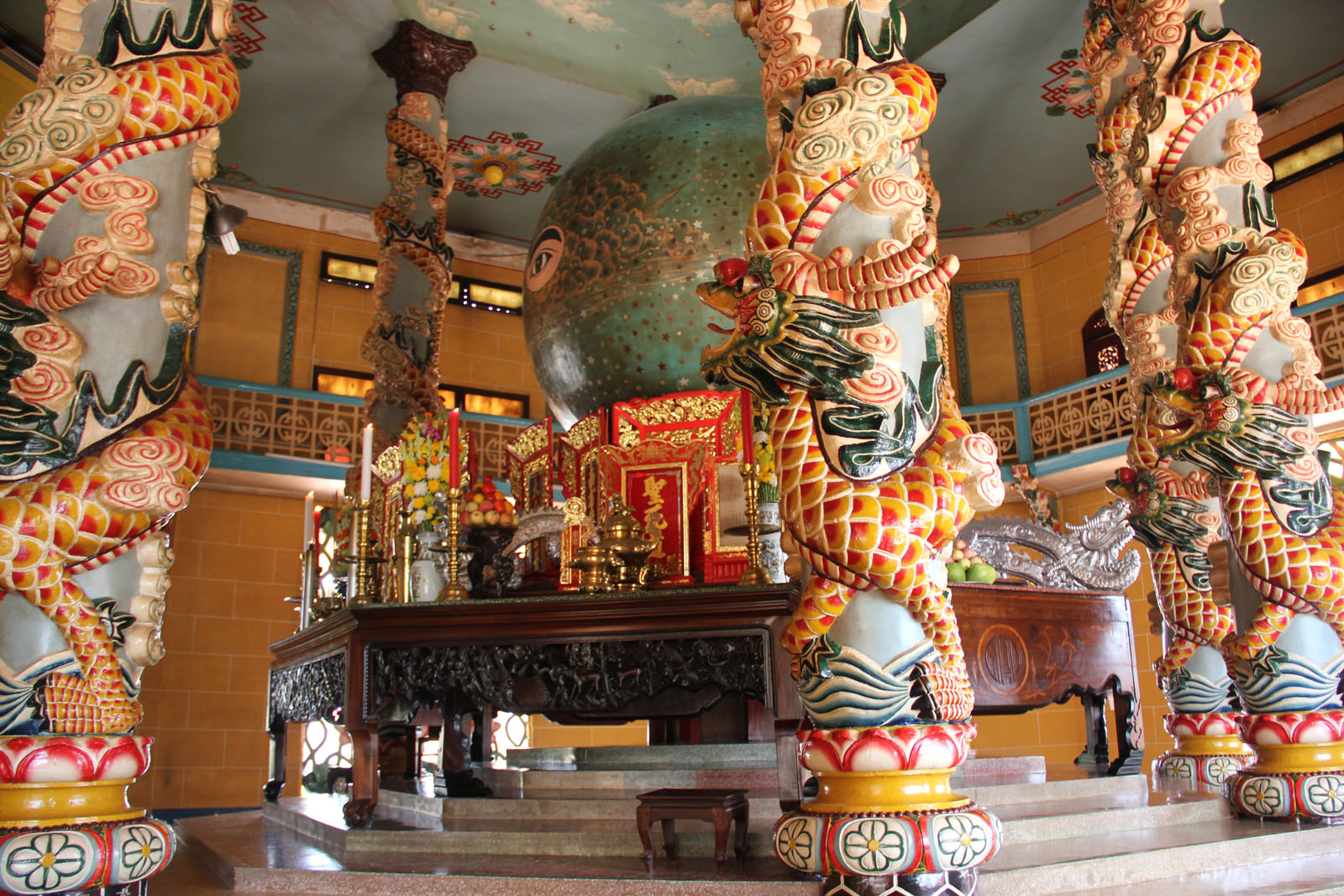 Cao Dai Temple in Tay Ninh - Vietnam