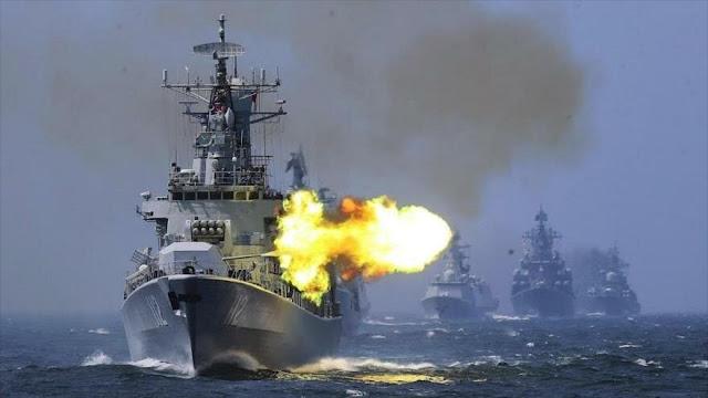 China y Rusia realizan operaciones conjuntas en el mar Amarillo