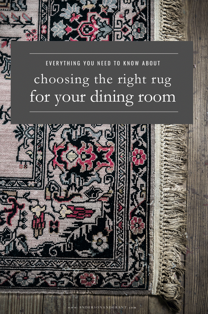 Tips for buying dining room rug