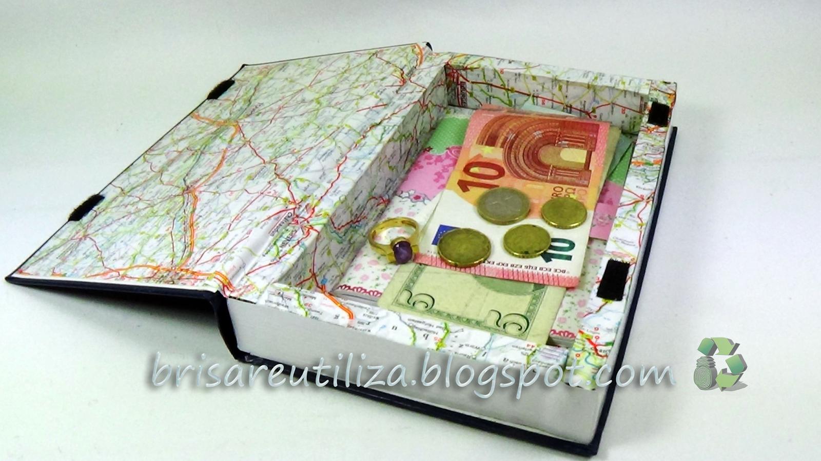 Libro Caja Decorativo
