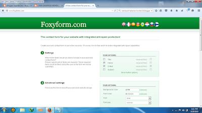 Cara Mudah Membuat Contact Form di Blogger