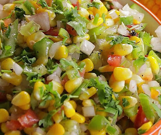 how to make american corn salad at home