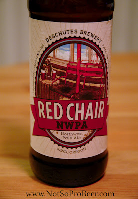 Red Chair Nwpa Abv Retro Rocking The Not So Professional Beer Blog Review Deschutes Northwest Pale Ale