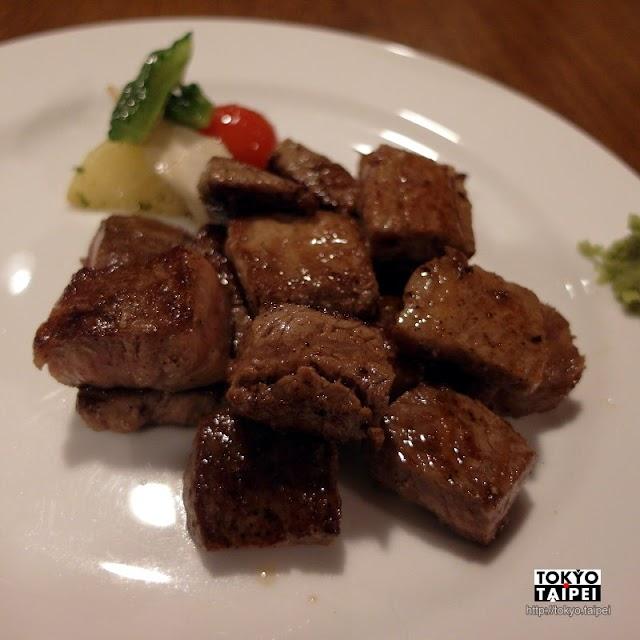 【月桃庵】在溫馨小店吃高檔石垣牛鐵板燒