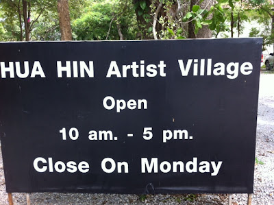 Visiting Artist Village in Hua Hin