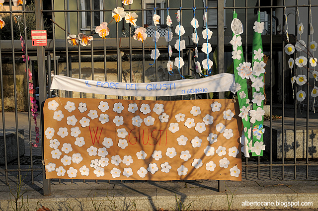 Oggi giorno della Memoria, trotter fiori di pruno, i giusti