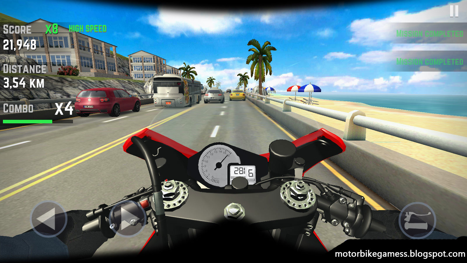 rider traffic highway games motorbike apk multiplayer motorcycle moto motorbikes android 3d racing mode mod pc v1 lifelike cockpit totally