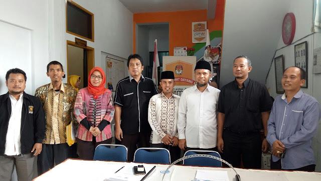 Ke KPUD, PKS Kota Medan Siap Hadapi Pemilu