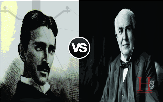 Perang Arus Listrik, Thomas Alpha Edison Vs Nikola Tesla