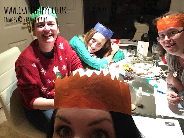 Take a look at the hilarious pictures from the Crafty Hippy Stampin' Up! Christmas Party