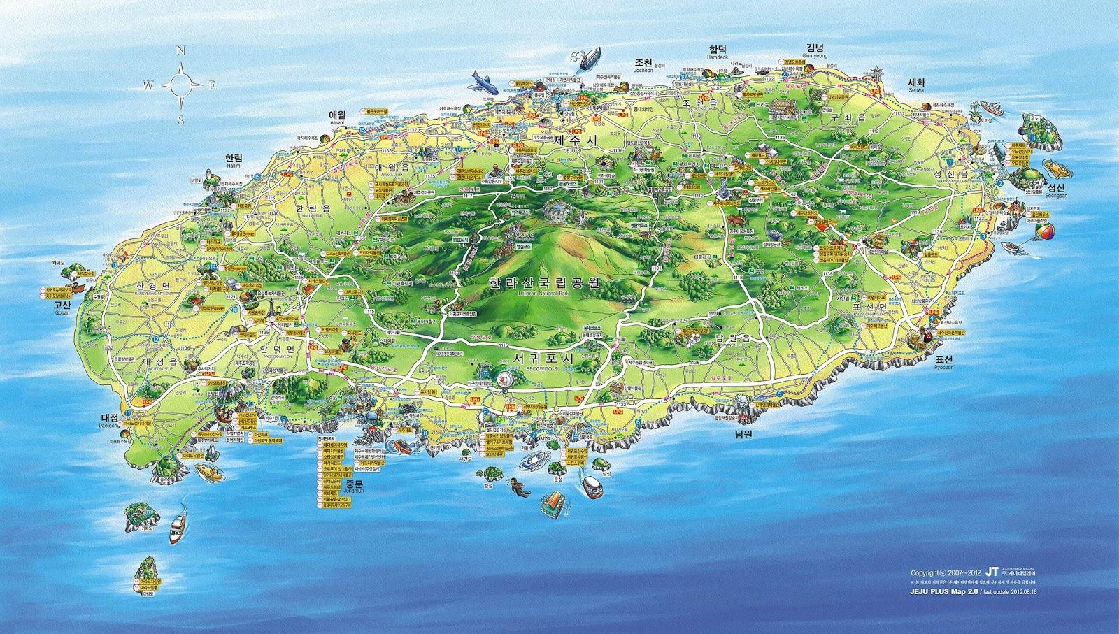 о чеджудо фото показать на карте