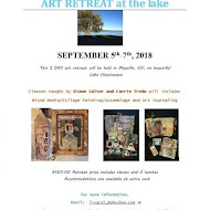 I'll be Teaching Here--Art Retreat at the Lake
