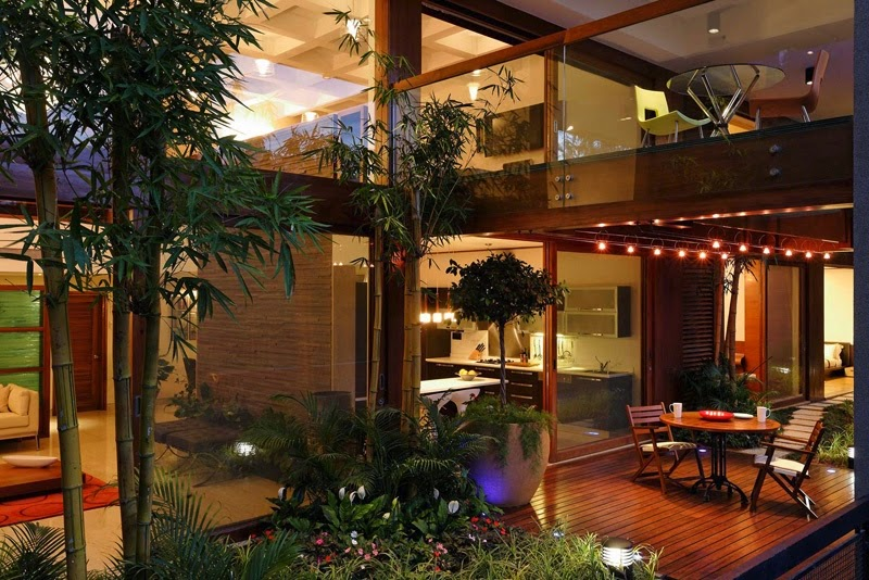HD Wallpapers: Nature Inspired Home Interior Designs