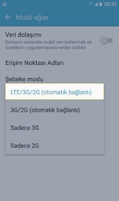 4.5G Açma