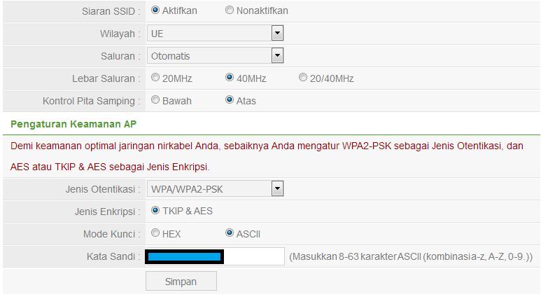 Keamanan Wi-Fi: Mana Yang Harus Digunakan WPA2-AES. WPA2-TKIP. atau Keduanya?   semutsujud