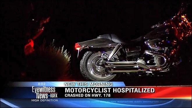 motorcycle crash highway 178 kern county bakersfield morning drive