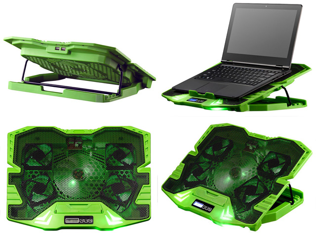 MULTILASER WARRIOR MASTER AC292 BASE COOLER PARA NOTEBOOK