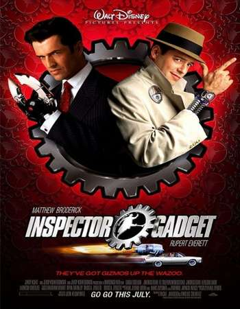 Poster Of Inspector Gadget 1999 Dual Audio 720p Web-DL [Hindi - English] Free Download Watch Online Worldfree4u