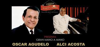 Concierto de Oscar Agudelo y Alci Acosta en Bogotá