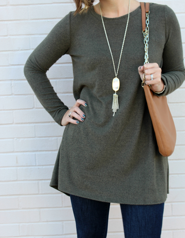 pure hearts boutique, tunic top, fall top, party in the back