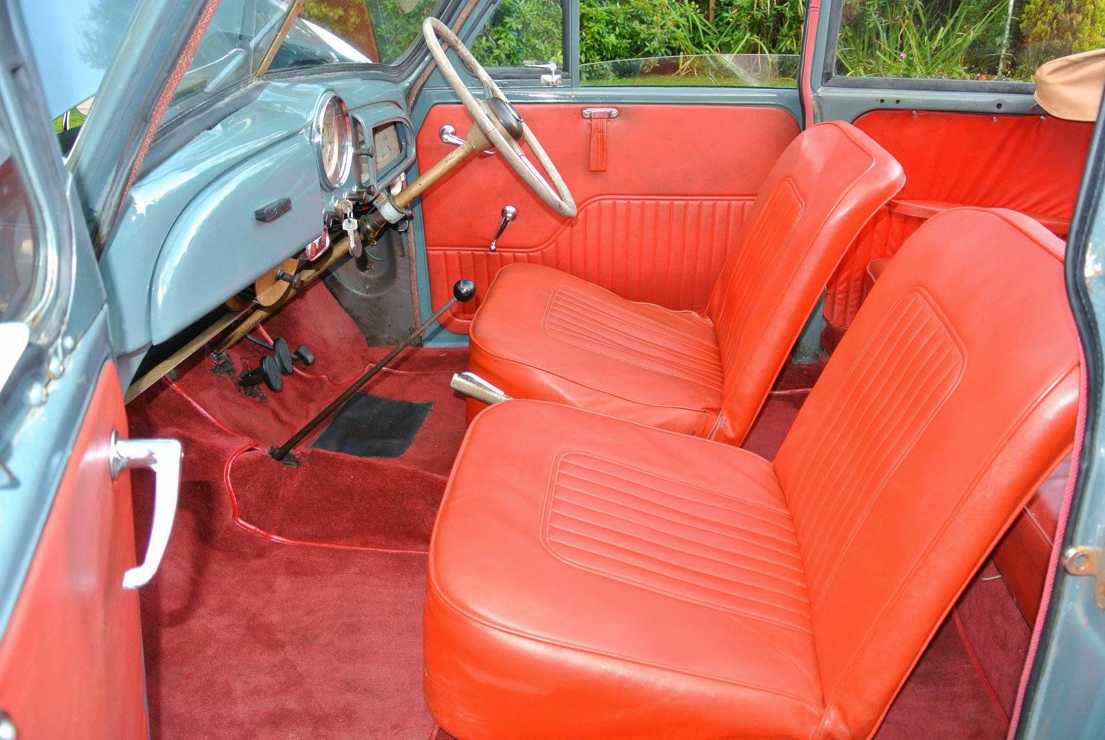 1955 Morris Minor Convertible Auto Restorationice