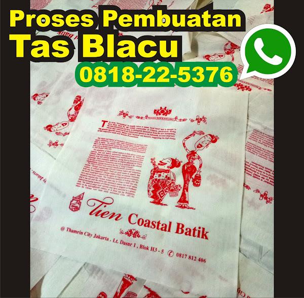 pembuatan tas blacu batik